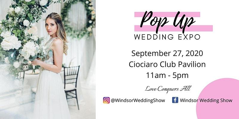 Pop Up Wedding Show
