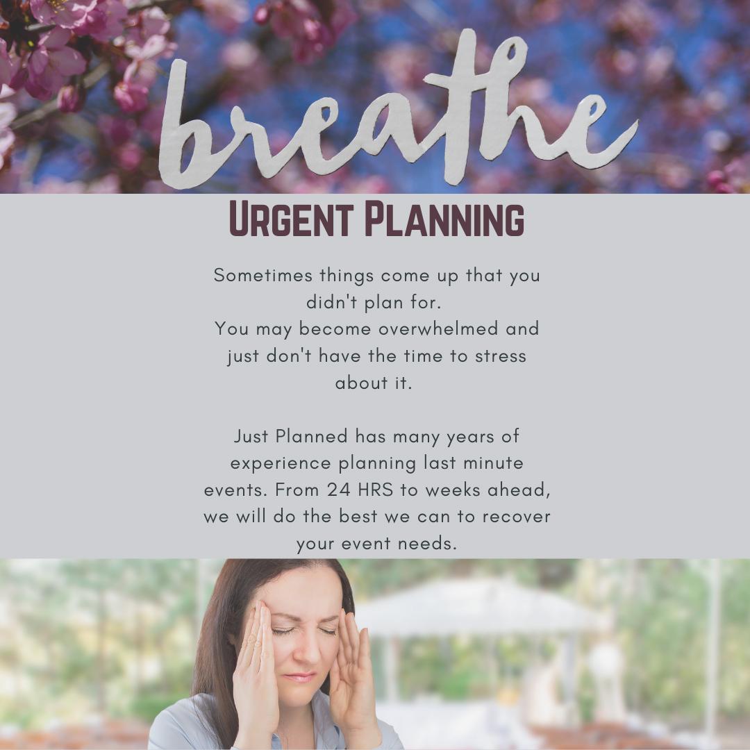 Last Minute Planning – Enjoy Your Wedding Day